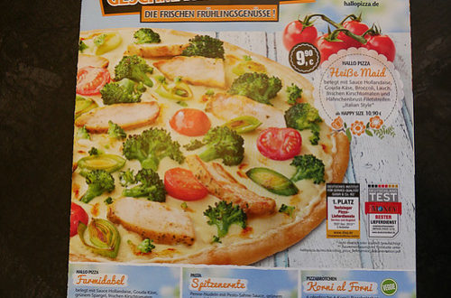 Hallo Pizza! normale Karte