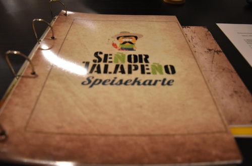 Speisekarte von Senor Jalapeno