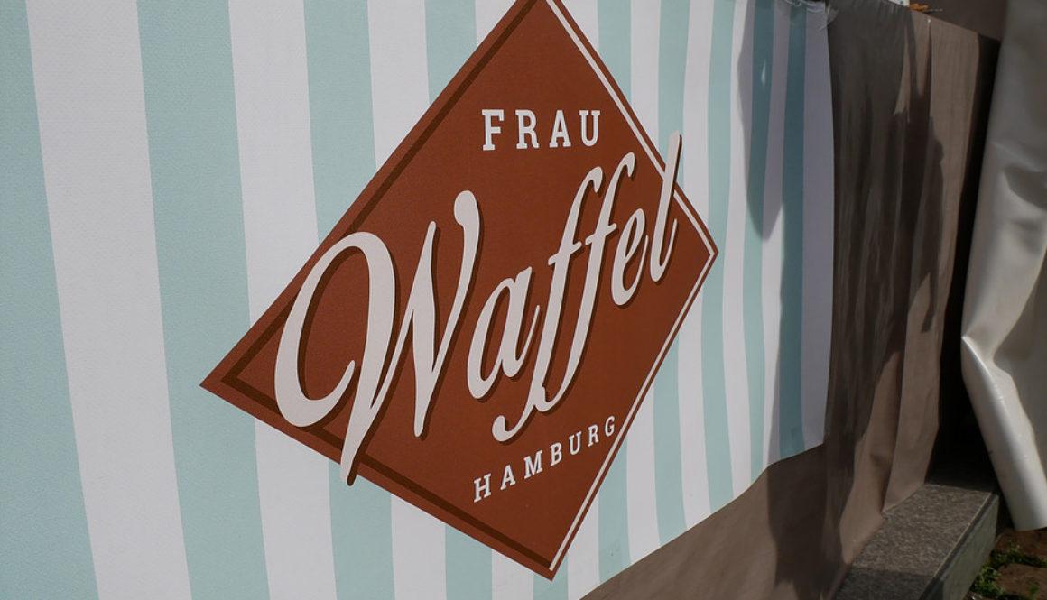 Logo von Frau Waffel Hamburg auf der KiWo 2017
